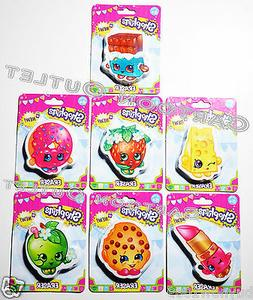 1 PC SHOPKINS ERASER AT RANDOM  CHEEKY CHOCOLATE KOOKY COOKI