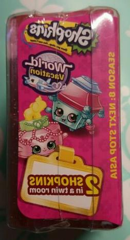 SHOPKINS SEASON 8 NEXT STOP ASIA BLIND MYSTERY 2 PACK TWIN
