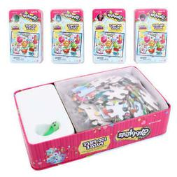 Shopkins 100-Piece Puzzle In Tin with Figure - CASE OF 6