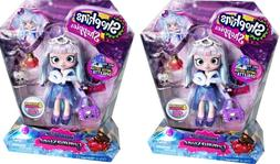 2 pack Shopkins Shoppies SPECIAL EDITION Gemma Stone Doll Ex
