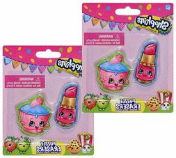 2 pk puzzle eraser toy figure set - 2 pack