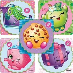 20 Shopkins STICKERS Party Favors Supplies Birthday Treat Lo