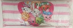 "Shopkins 20"" x 48""  Oversized Body Pillow 7 Characters Pink"