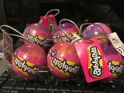 Shopkins 2017 Christmas Ornaments Unopened