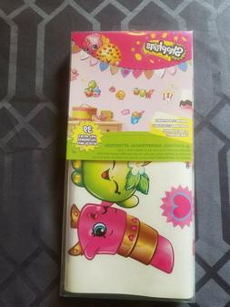 shopkins 39 piece wall decals new