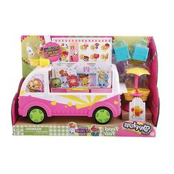 Bundle 4 Items: Shopkins Scoops Ice Cream Truck, Cool and Cr