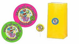 40 shopkins 2 inch stickers party bag