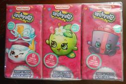6 pack Shopkins kleenex, party favors, birthday, gifts, loot