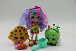 6 psc Shopkins Action Figures. Mixed Toy Lot.