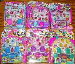 6 - Shopkins 12 Packs One each of Season 1, 2, 3, 4, 5 & 6 S