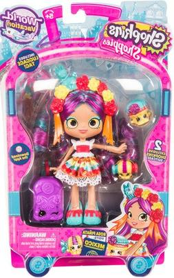 NEW - Season 8 - Shopkins Shoppies - ROSA PINATA - World Vac