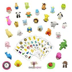 Premium 30 Animal Collectible Set of Adorable Japanese Style