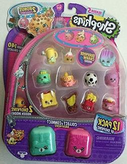 Season 5 Shopkins 12 Pack + 2 Bonus Charms Translucent Yo-Ch
