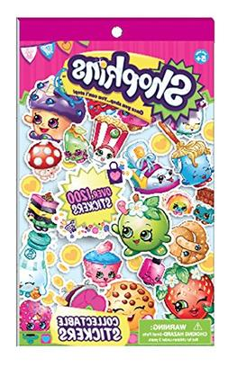 Shopkins Collectible Sticker Book-Over 1200 Stickers