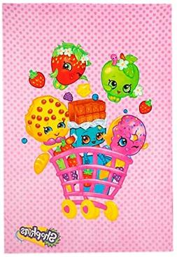 Shopkins Plush Blanket 62 X 90
