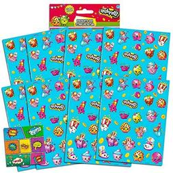Shopkins Stickers Party Favors Pack ~ Over 200 Shopkins Stic