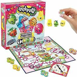 Shopkins Supermarket Scramble Game with 4 Exclusive Collecti