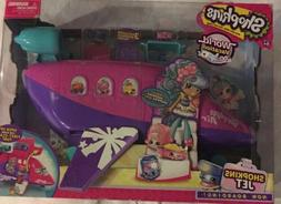 Shopkins Air World Vacation World Jet Shoppies  Includes 3 E