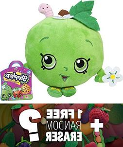"Apple Blossom: ~6"" Shopkins Plush + 1 FREE Japanese Food The"