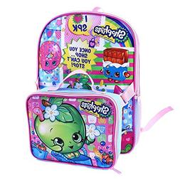 Shopkins 16 in Backpack with Lunch Kit