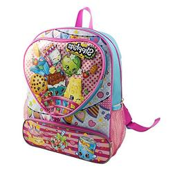 "Shopkins 16"" Backpack Heart"
