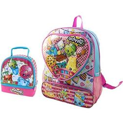 Shopkins 14 Backpack & Lunch Box Set - Hearts