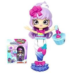 "HAPPY PLACES Berri Cakes Mermaid Tails Doll 3"" with Color Ch"