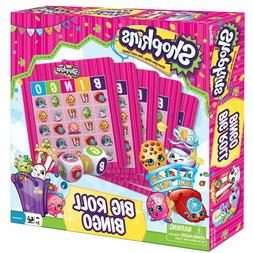 Shopkins Big Roll Bingo Kit Kids Board Game Preschool Toy Pa