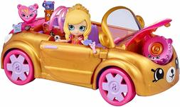 Birthday Gift Toy Shopkins Happy Places Royal Convertible Ca