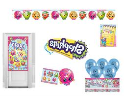 SHOPKINS BIRTHDAY PARTY DECORATIONS TABLEWARE BALLOONS LOOT