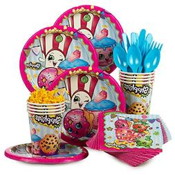 Shopkins Birthday Standard Tableware Kit For 8 Guests Includ