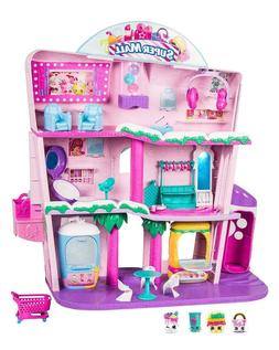 Brand New Shopkins Doll Shopville Super Mall Playset New - B