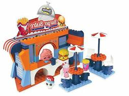 The Bridge Direct Shopkins Kinstructions - Burger Bistro Bui