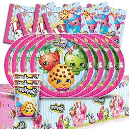 Shopkins Children's Birthday Complete Party Tableware Pack K