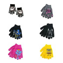 Children's Stretch Gloves Mittens  TV Movie Characters!!!