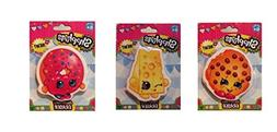 Shopkins Collectible Eraser Bundle Set - 3 itmes: D'lish Don