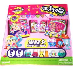 Shopkins Collector's Edition 4 Games in 1 Set Game Board D