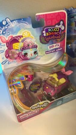 Shopkins Color Change Fantasy Cutie Cars QT4-CO2 MOTOR MERMA