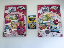 Shopkins Coloring Set - 2 Books With Kooky Crayons!