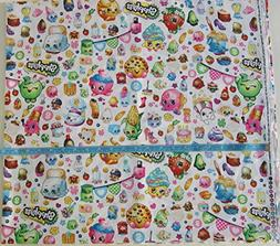 cp60447 packed party cotton fabric white background