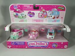 Shopkins Cutie Cars  Freezy Riders Collection