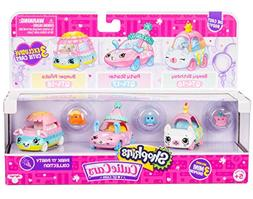 Shopkins Cutie Cars 3 Pack Collections, Die cast Collectible