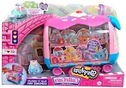 Shopkins Cutie Cars   Play 'n' Display Cupcake Van with Excl