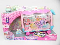 Shopkins Cutie Cars Play 'n' Display Cupcake Van with Exclus