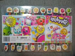 Shopkins Doodling Fun!  Pencils, Erasers and Activity Book