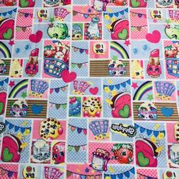 "Fabric Spring Creative 1 Yard X 43"" ""Shopkins Patch Part"