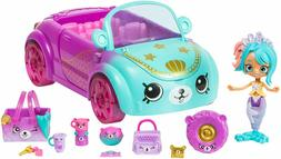 🚛Fast Shipping! {NEW} Shopkins Happy Places Mermaid Conve