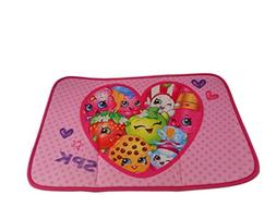 Shopkins 34167 Foam Bath Mat, Pink