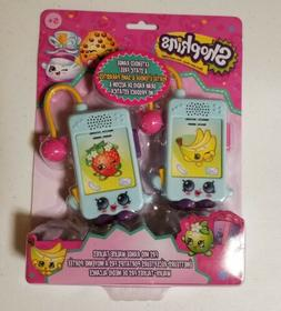 Shopkins Character Walkie Talkies for Kids Static Free Exten