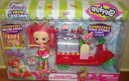 Shopkins Frosty Pops Scooter w Exclusive Shoppie Doll Play S